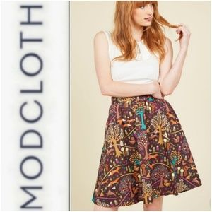 This Woodland is Your Land Reto Skirt